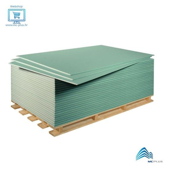 Gipskartonska ploča Technogips H2 12,5/1250x2000 vodoodbojna